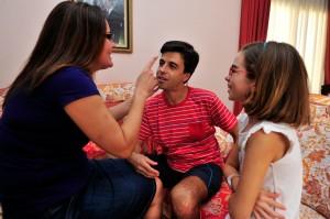 Daniel Sánchez y familia, por Ke-Imagen
