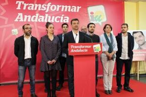 Antonio Maíllo, tras los resultados electorales del 22M. Foto: IU Andalucía.