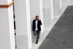 Reunion entre delegaciones del PSOE-A y de IULV-CA