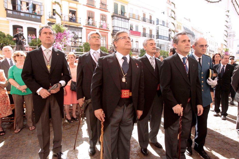 Sevilla 07-06-2012 Procesion del Corpus Christi  Foto: Manuel Olmedo