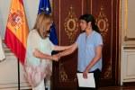 Sevilla 09-06-2015 Susana Diaz, recibe a Teresa Rodriguez, de Podemos Foto: Manuel Olmedo