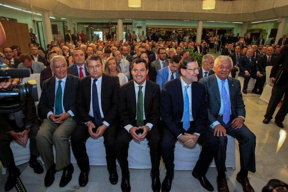 Sevilla 22-07-2015 Conferencia de Mariano Rajoy en Antares Foto: Manuel Olmedo