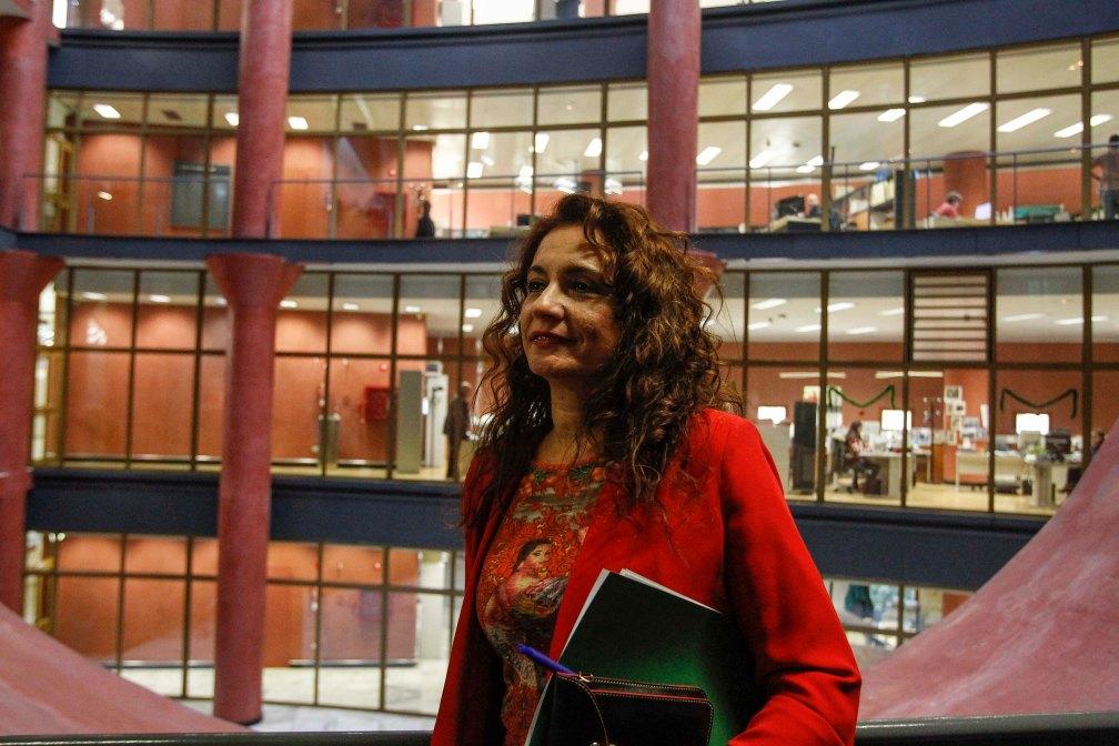 MO La consejera, Maria Jesus Montero, se reune con los sindicatos 020