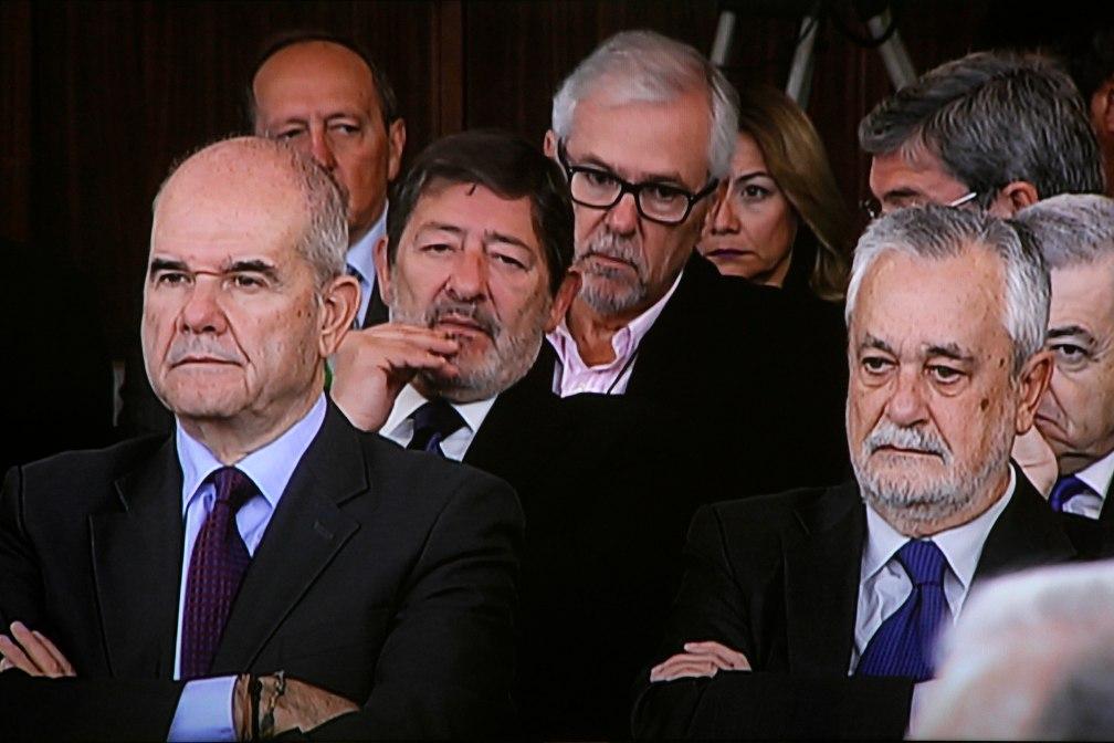 Sevilla 14-12-2017 Segundo dia del juicio de los EREFoto: Manuel Olmedo