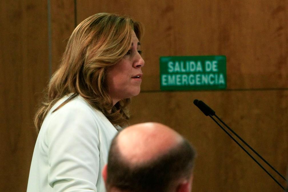 MO Susana Diaz, ante la Interparlamentaria del PSOE-A 055